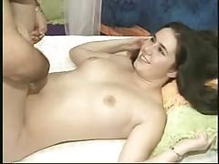 Teen Kacey with a midget genie