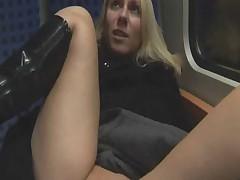 Train slut