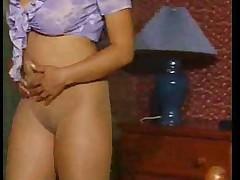 Marie vous taquine en Pantyhoses PJM