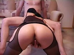 Sex wife fucked in the kitchen