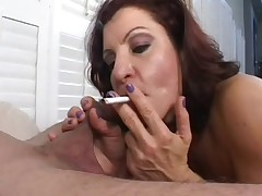 Milf Smoking Blowjob