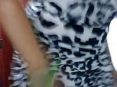 Blondi Horny Show Tits and smoking marihuana-Part-01