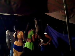 Indian Girl Stage Dance