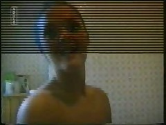 Suburban Wife Strips and Showers!!