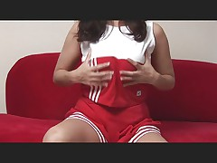 Big tit cheerleader