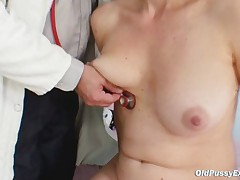 Barbora Visits Gyno Doctor To Get Mature Pussy Checked
