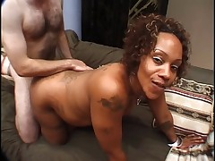 Horny Tattooed Ebony Prego Passion