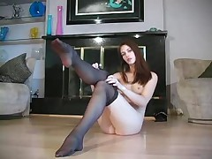 Pantyhose Faith Leon