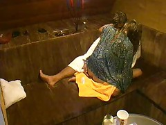 Big Brother Czech Oral lovemaking in sauna
