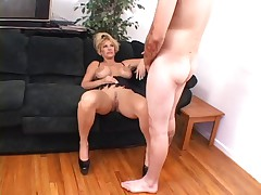 Hot Busty Mature Kat Kleevage Smoking Sex