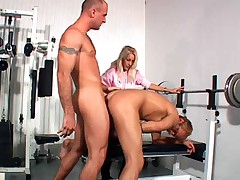 Bi Bi American 3 - Desire Moore with Bisexual Men - Part 2