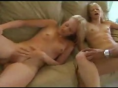 Sweet Twins get drilled