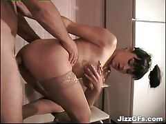 Passionate Sex in the Kitchen