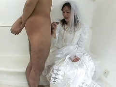 Let me taste your love holes sweet bride