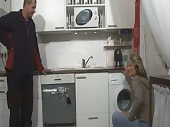 Hot milf fucked in kitchen - german - csm