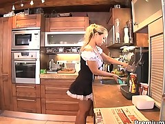 Mia Leone is a slutty maid
