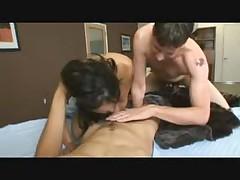 Bisexual Sucking - Bedroom