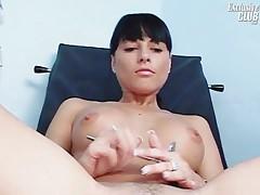 Jessica Sanchez pussy gyno visit at kinky gynoclinic