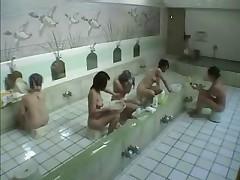 Japanese Lesbian Sauna