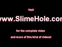 Gloryhole bukkake at the gloryhole
