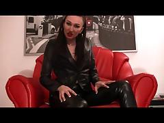 Leather Bitch Teasing