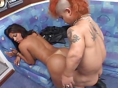 Midget Punk Fucks Hot Girl