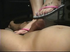 Flip Flop Footjob Fetish