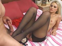 Sophia Lynn pantyhose sex