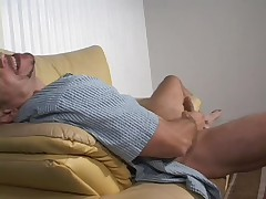 Cock smoking granny