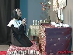 Aubrey Addams in the Nun's Prayer