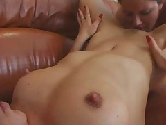 Threesome with pregnant