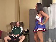 Angel Eyes - Ebony Cheerleader Creampie