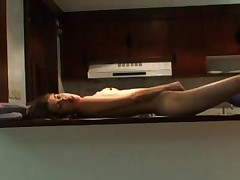 Soft Liana - Horny on kitchen table