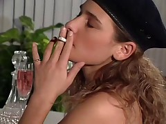 Smoking while Being Licked and Fingered by snahbrandy