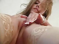 Masturbating On Kitchen Table