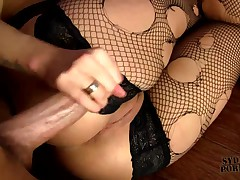 BLINDFOLDED and TIED GIRLFRIEND HARD FUCKED IN A CAGE !!
