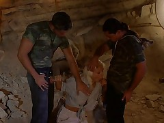 Henriette Blond DP Scene in cave from the movie Indiana Mack
