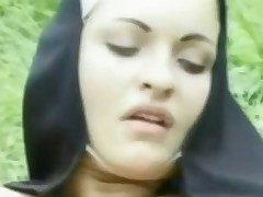 Nun's Outdoor Sex