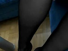 Wholesale plays in black pantyhose