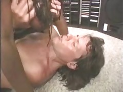 Big black tits gets fucked and milked