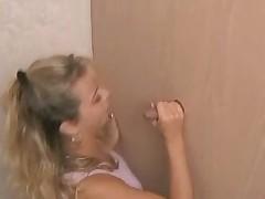 Amateur Girl Sucking The Glory Hole - csm