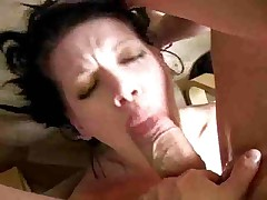 Goth Slut Roxy Loves giving Head