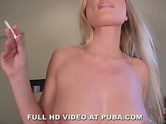 Hot Czech Diana Doll POV Smoking