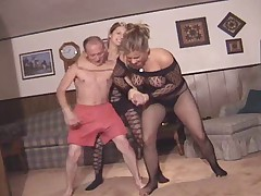 Cfnm wrestling