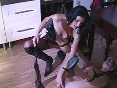 German Pussy Whipping in the Kitchen