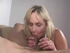 Cock smoking mature