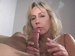 Cock smoking mature
