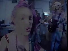 Lil'Rocker Bitch Bridget Powers Hard Fucked