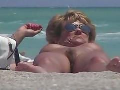 Sharing Nudist Beach Video