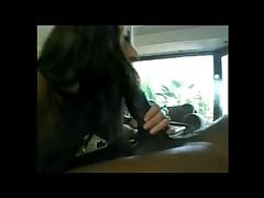 Smoking girl fucking big black cock